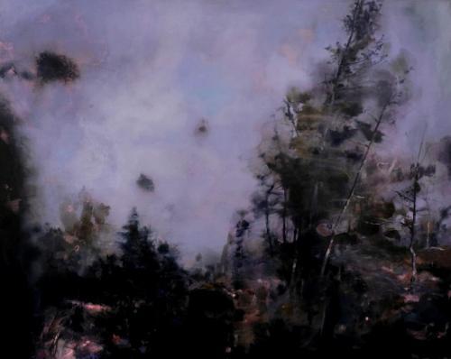 Hinterland, 20 19, H 80 X B 100 cm, oil on canvas